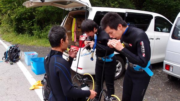 富士山の麓!本栖湖体験ダイビング!_a0226058_13545751.jpg