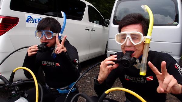 富士山の麓!本栖湖体験ダイビング!_a0226058_13555090.jpg