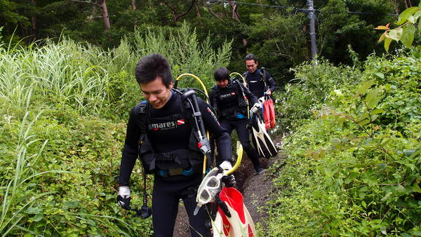 富士山の麓!本栖湖体験ダイビング!_a0226058_1356164.jpg
