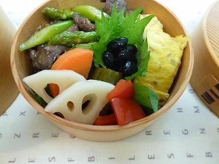 lunch box      真夏の工夫 いろいろ_a0165160_16121674.jpg