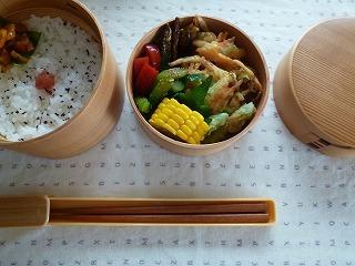 lunch box      真夏の工夫 いろいろ_a0165160_16175193.jpg