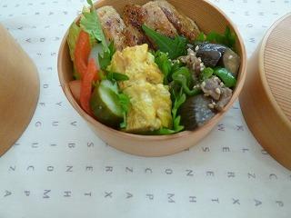 lunch box      真夏の工夫 いろいろ_a0165160_16234372.jpg
