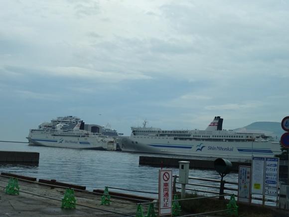 小樽港にダイヤモンドプリンセス_b0236665_10064357.jpg