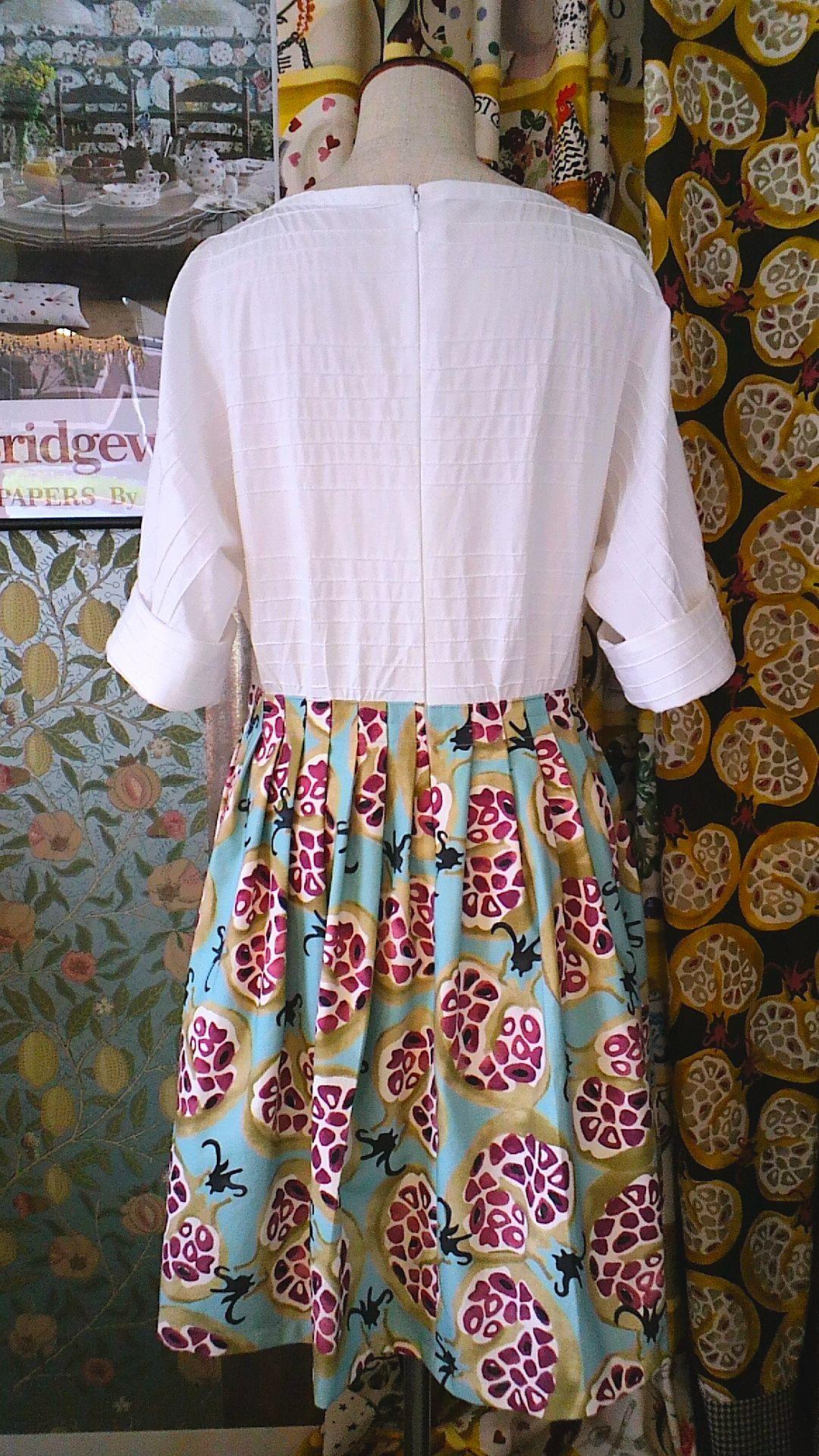 カーテン生地で作る 洋服 Emma×JAB_c0157866_21353350.jpg