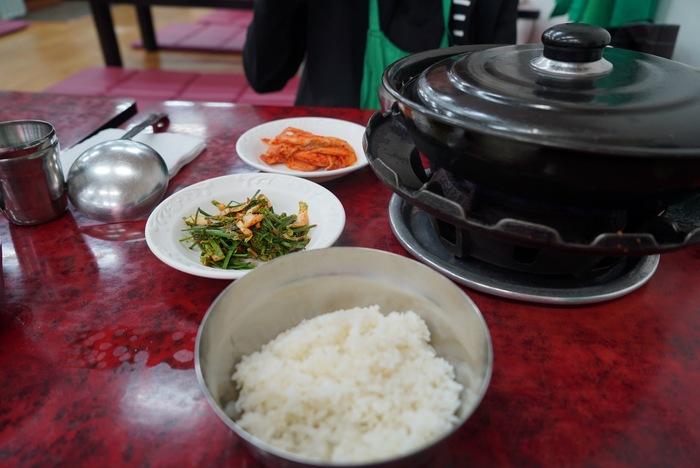 2015年釜山旅その6 ハルメチプでタコと牛モツの辛い鍋、ナクチポックンならぬナッコプポックン。_a0223786_14555567.jpg