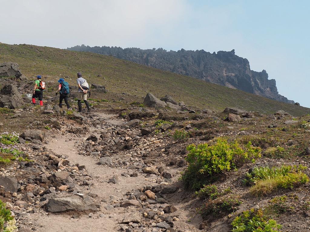 タルマエソウが最盛期の樽前山、7月20日-その2 -_f0138096_17515620.jpg