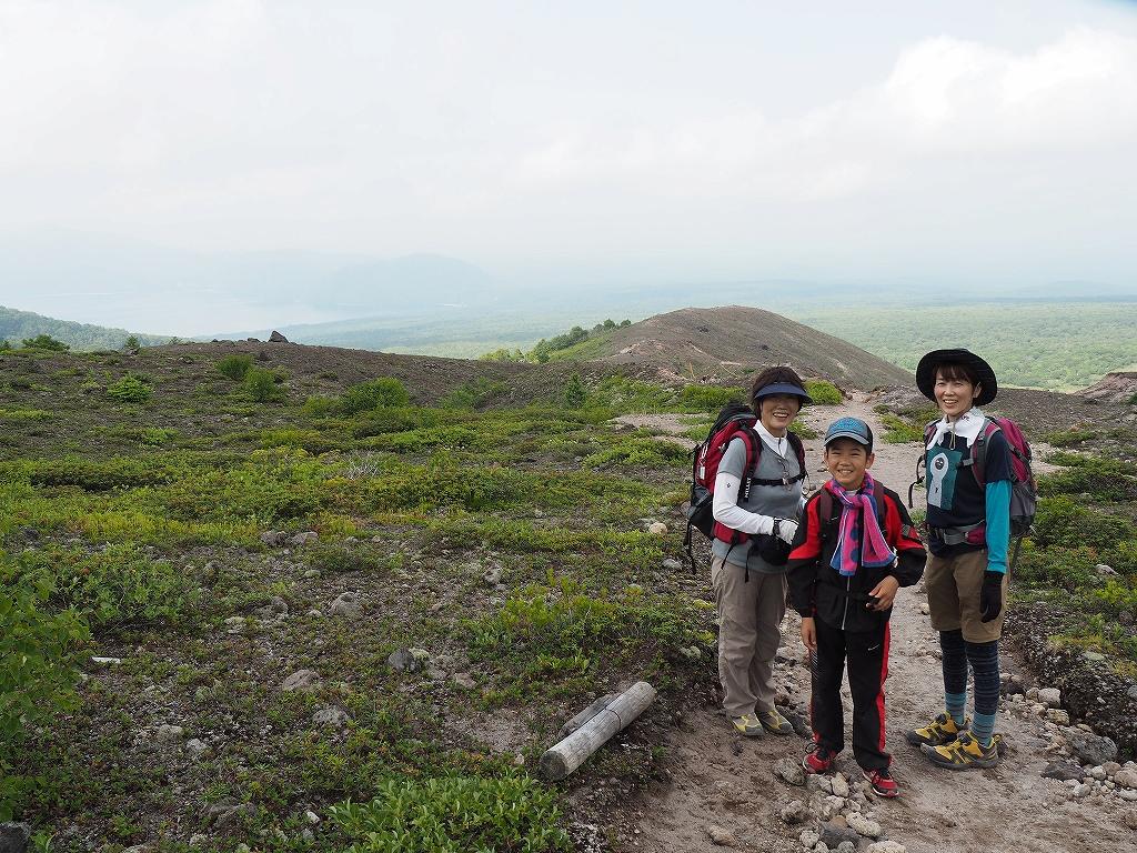 タルマエソウが最盛期の樽前山、7月20日-その2 -_f0138096_175213100.jpg
