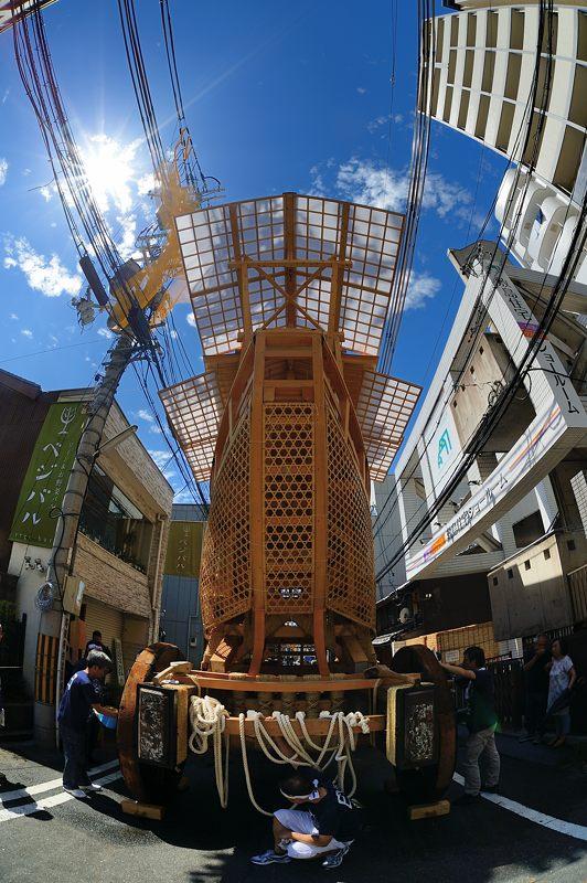 祇園祭2015 後祭・山鉾建て 其の三_f0032011_1935445.jpg