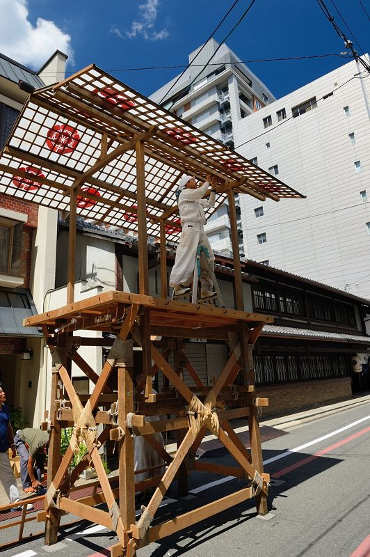 祇園祭2015 後祭・山鉾建て 其の三_f0032011_193736.jpg