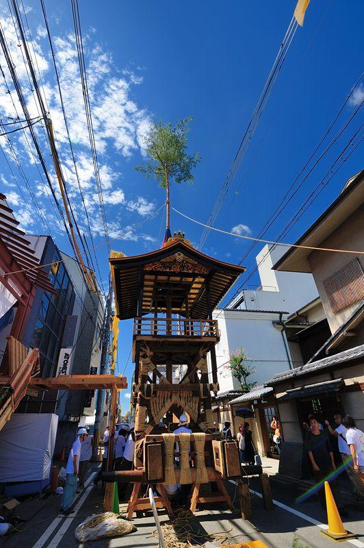 祇園祭2015 後祭・山鉾建て 其の三_f0032011_19391724.jpg