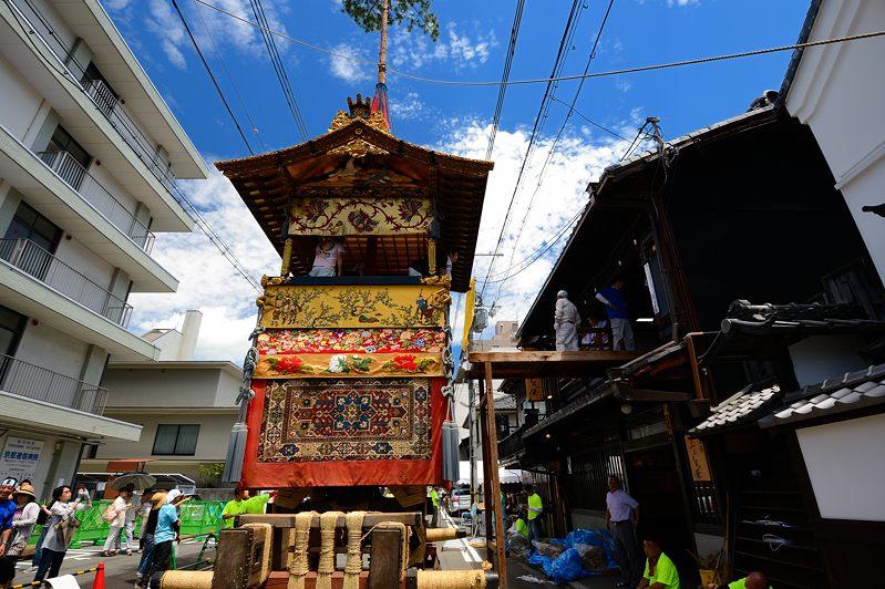 祇園祭2015 後祭・山鉾建て 其の三_f0032011_1944663.jpg