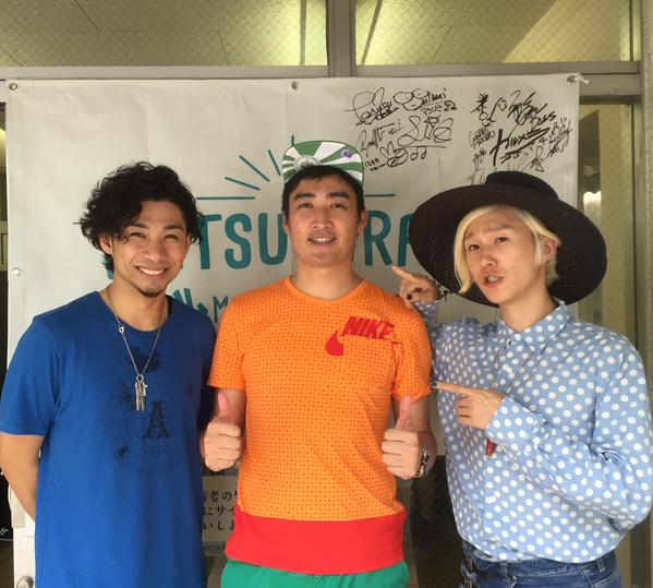 #夏びらき フェス  #吉田山田 のLIVEに演奏参加させていただきました♬_b0032617_2120391.jpg