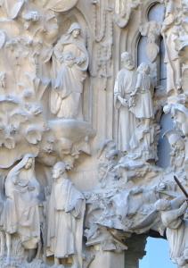 天才ガウディが美しい建築様式と彫刻、装飾を集約させた教会でバッハを感ずる_a0113718_11180422.jpg