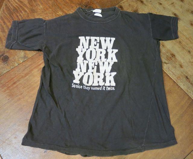 7/24(土)入荷!80's〜NEW YORK NEW YORK Tシャツ!_c0144020_1411142.jpg
