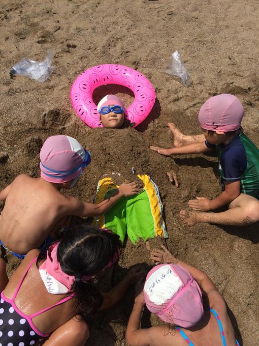 海合宿3日目  海でいっぱい遊んだよ!_b0117125_13472735.jpg