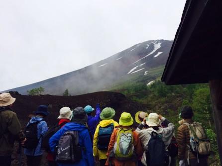 15前期 みどり学(エクセレント)講座 富士山御庭野外学習    _e0211937_1612042.jpg