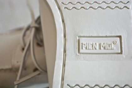 white leather deck shoes dead stock_f0226051_13234442.jpg