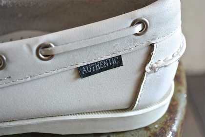 white leather deck shoes dead stock_f0226051_133050100.jpg