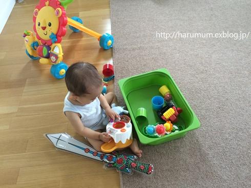 おもちゃの断捨離で、トロファストの整理と収納改善。_d0291758_1550393.jpg