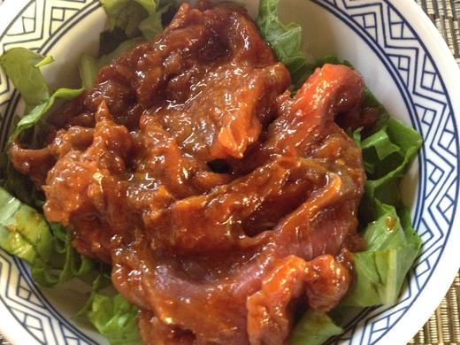 カルパッチョ丼、韓国風_a0136671_2125495.jpg