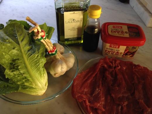 カルパッチョ丼、韓国風_a0136671_22895.jpg