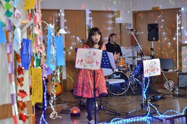 7月11日、キラキラ七夕コンサート@グループホーム「おもやい」_e0188087_16422269.jpg