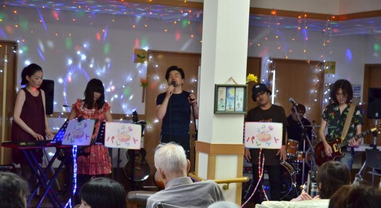 7月11日、キラキラ七夕コンサート@グループホーム「おもやい」_e0188087_16485160.jpg