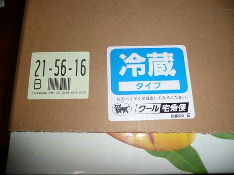 2015年7月27日 沖縄中学校同級生 金城幸栄君から中元にマンゴ その1_d0249595_18234532.jpg