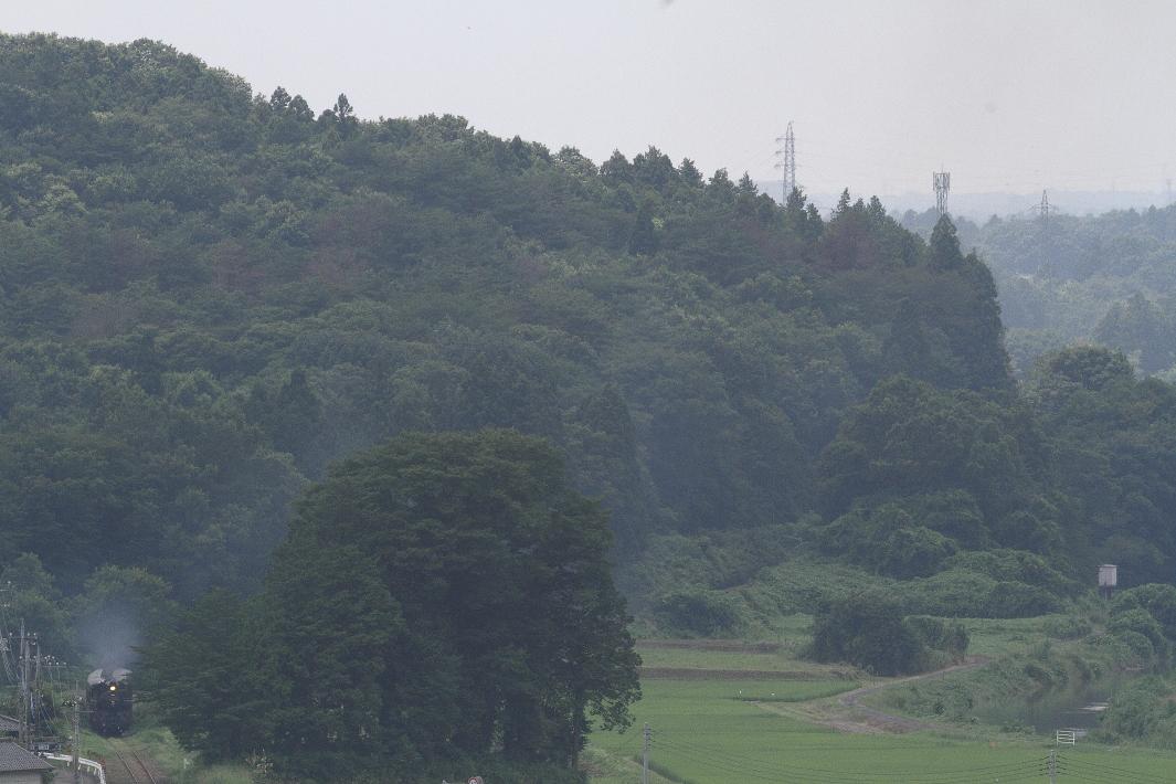 夏の緑の片隅に薄い煙の汽車 - 2015年夏・真岡 -_b0190710_2315041.jpg