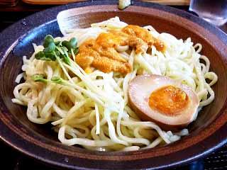 かみあり製麺@出雲 ★★ (うにつけ麺(泡沫麺)・夏季限定)_f0080612_1903489.jpg