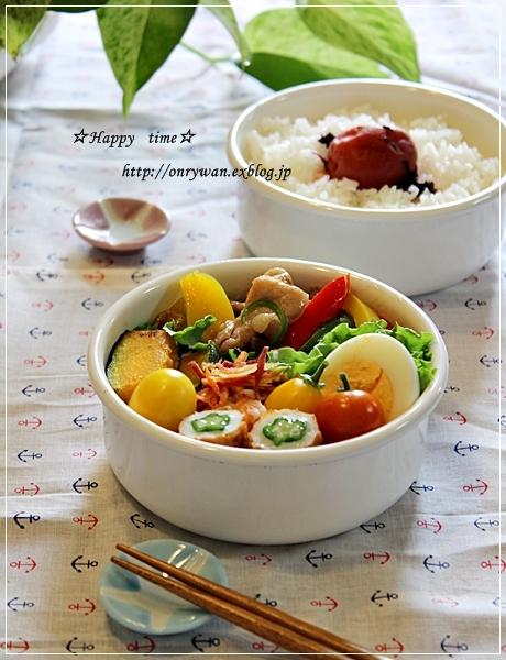 チンジャオロース弁当とトマトでパスタと酵母♪_f0348032_19312929.jpg