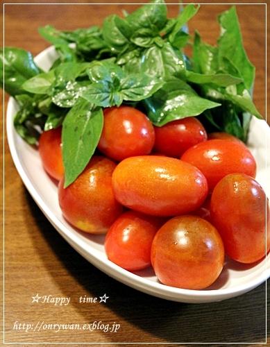 チンジャオロース弁当とトマトでパスタと酵母♪_f0348032_19314521.jpg