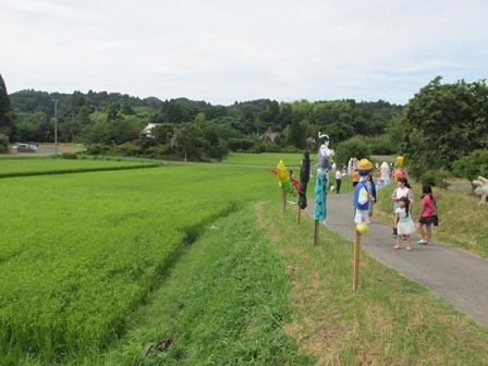 ニホントカゲ/変わりゆく農業_a0123836_1648179.jpg