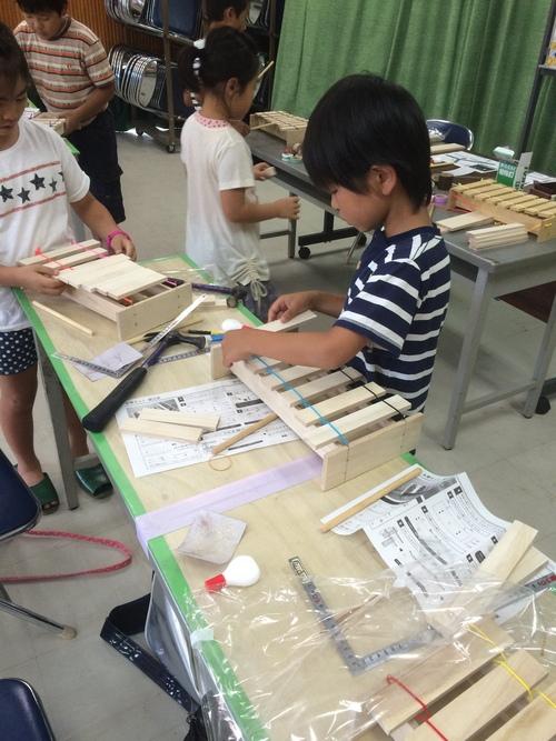 夏休み木工教室のご報告_b0211845_1039229.jpg