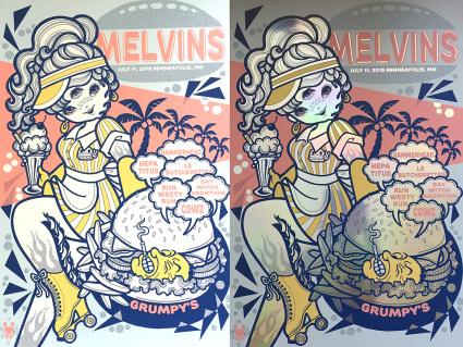 MELVINS ミネアポリス公演ポスター_f0126648_20192947.jpg