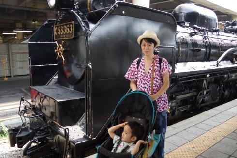 蒸気機関車~露天風呂~川遊び_f0006713_23510747.jpg