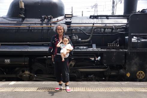蒸気機関車~露天風呂~川遊び_f0006713_23540459.jpg
