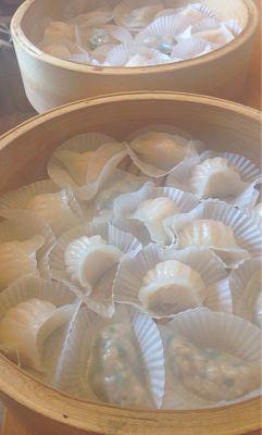 蝦蒸し餃子、ニラ餃子、ショーロンポーレッスン_a0175348_2142991.jpg