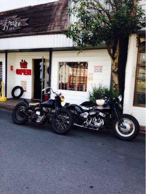 本日のバイク‼︎_f0194657_17164124.jpg