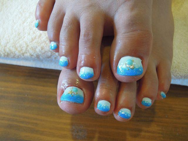 Sea Foot Nail_a0239065_14122635.jpg