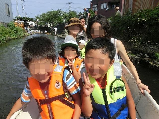 酷暑の中、冷たさが気持ちいい「第29回田宿川 たらい流し 川祭り」_f0141310_7171016.jpg