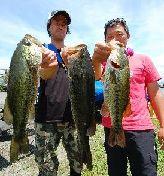 第10回 琵琶湖でバスフィッシングを楽しもう会 ウェイイン_a0153216_14564312.jpg