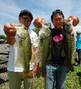 第10回 琵琶湖でバスフィッシングを楽しもう会 ウェイイン_a0153216_15101072.jpg