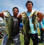 第10回 琵琶湖でバスフィッシングを楽しもう会 ウェイイン_a0153216_1516339.jpg