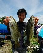 第10回 琵琶湖でバスフィッシングを楽しもう会 ウェイイン_a0153216_15452489.jpg
