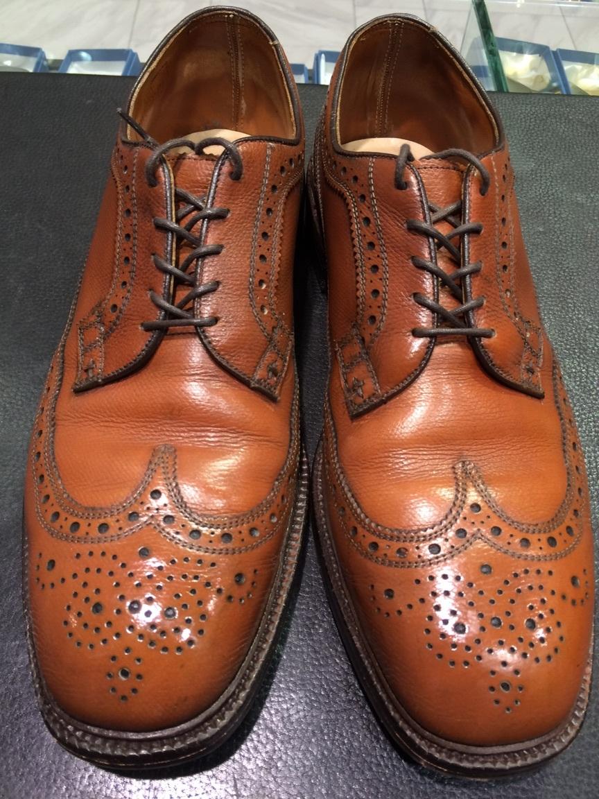 ヴィンテージ靴の最初のお手入れ!_b0226322_12220048.jpg