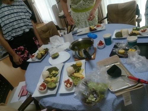 出張料理教室(~優しい時間~)_f0323446_20493682.jpg