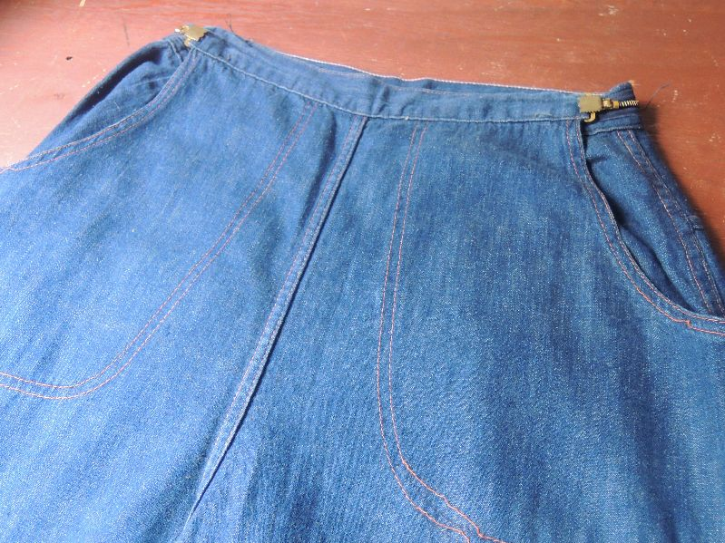 50S DENIM RANCH PANTS --RECOMMEND--_c0176867_12584399.jpg