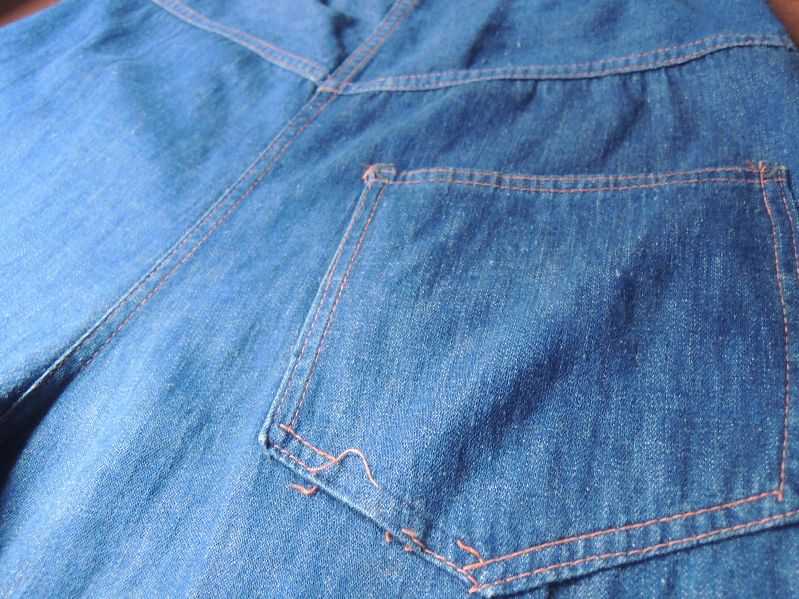 50S DENIM RANCH PANTS --RECOMMEND--_c0176867_13162868.jpg