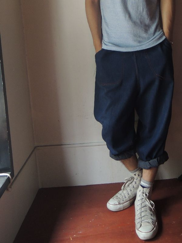 50S DENIM RANCH PANTS --RECOMMEND--_c0176867_13191335.jpg